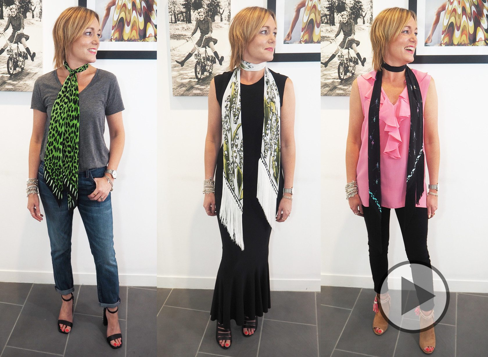 3 Ways To Style Rockins Scarves Video