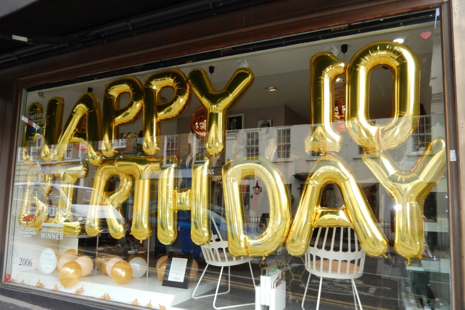 10 Year in Store Birthday Event