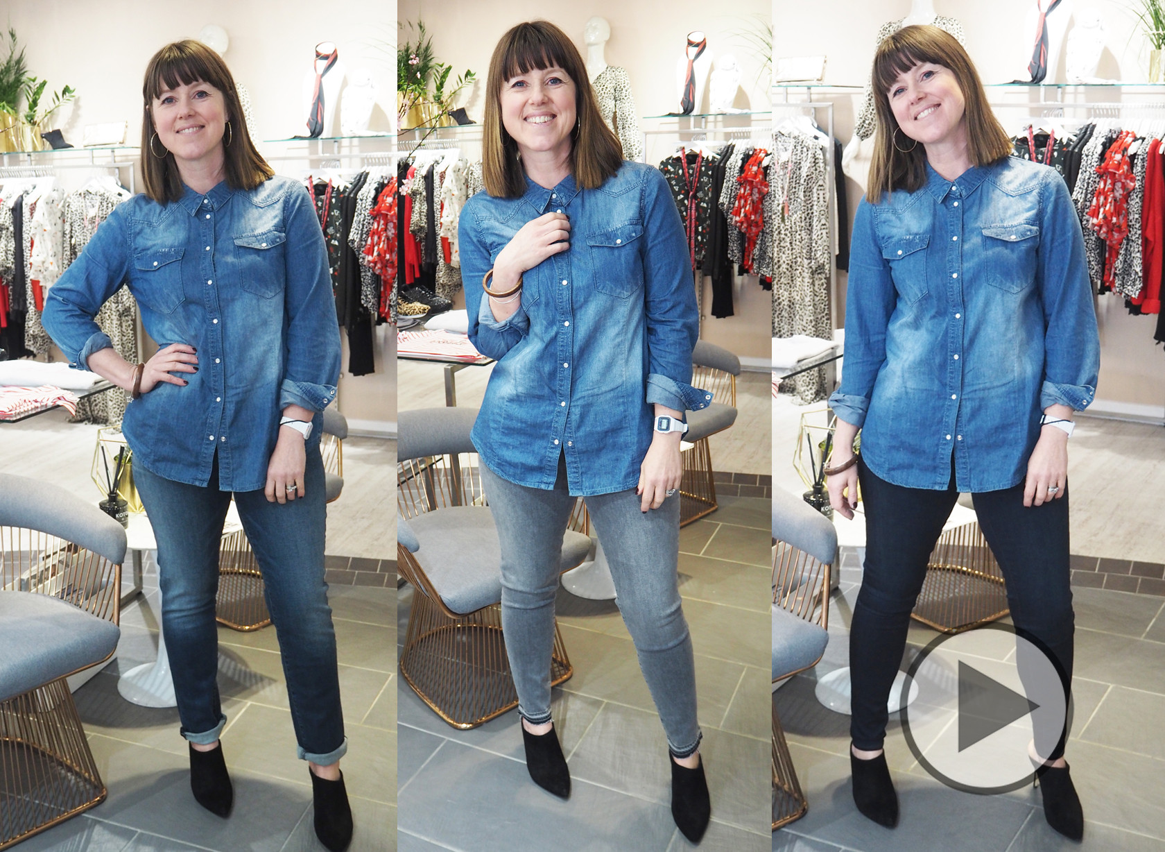 Caroline's Denim Challenge Video - Full Version - Paige Denim Jeans + J Brand Jeans
