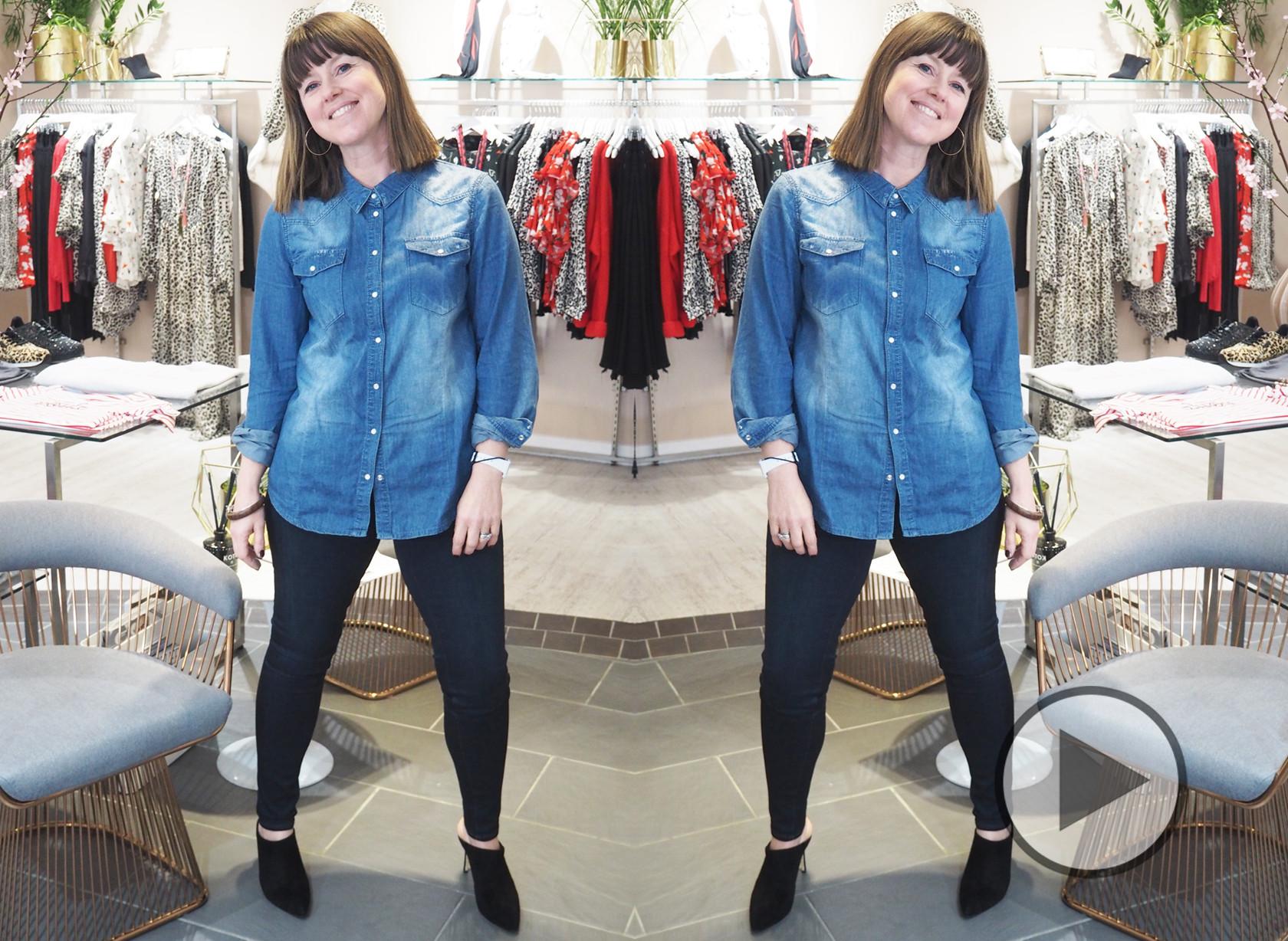 Caroline's Denim Challenge - Episode 1 Paige Denim Hoxton Jeans