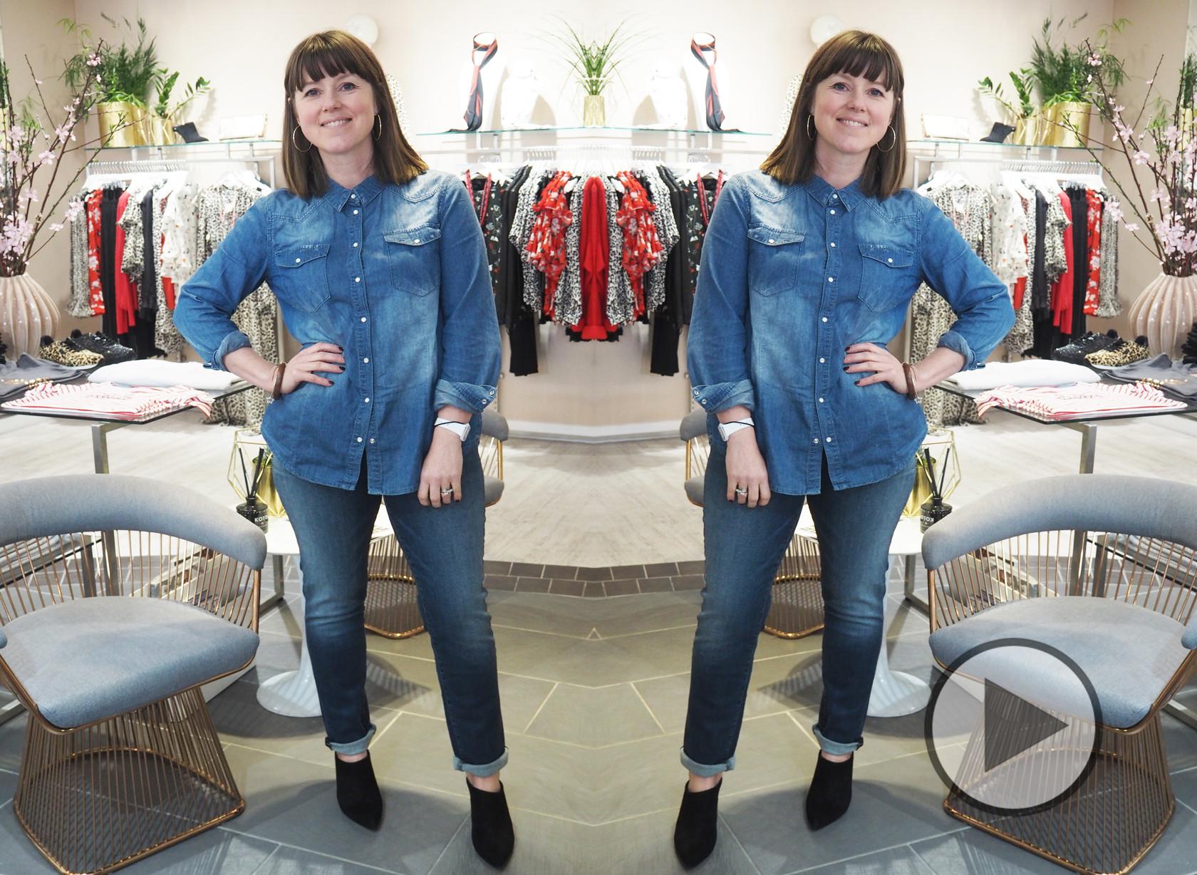 Caroline's Denim Challenge - Episode 2 J Brand Maude Jeans