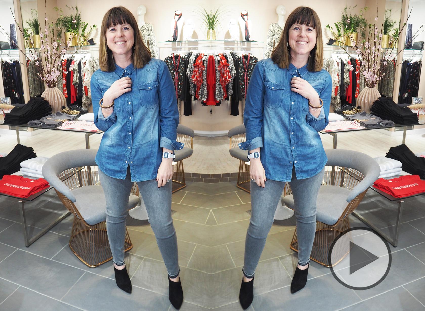 Caroline's Denim Challenge - Episode 3 J Brand Alana Jeans