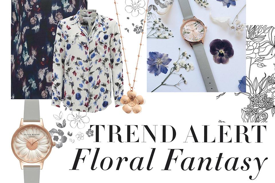 Trend Alert: Floral Fantasy