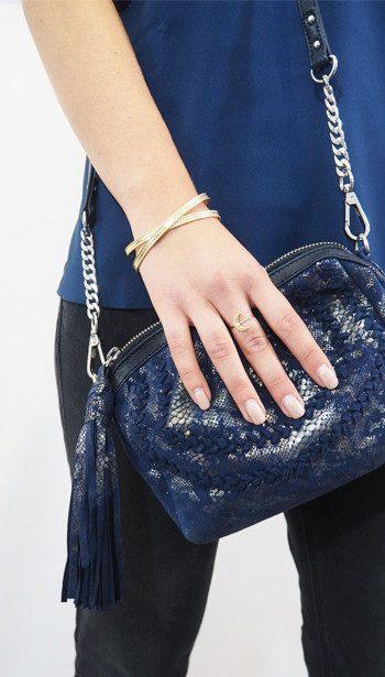 Cooper & Ella Camisole Top, Becksondergaard bag and Anna Beck bracelet