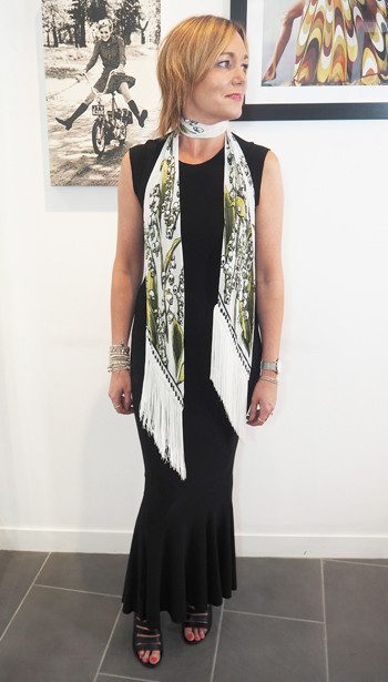Look Book Outfit - 3 Ways To Style Rockins Scarves