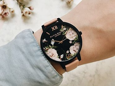 Olivia Burton After Dark and Black Dial Watches