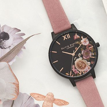 Olivia Burton Black Dial Watches
