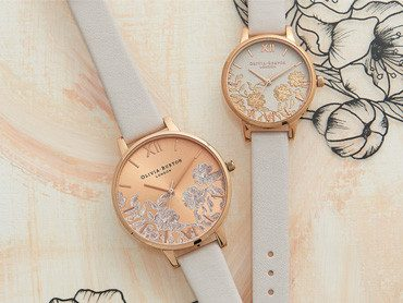 Olivia Burton Lace Detail Watches