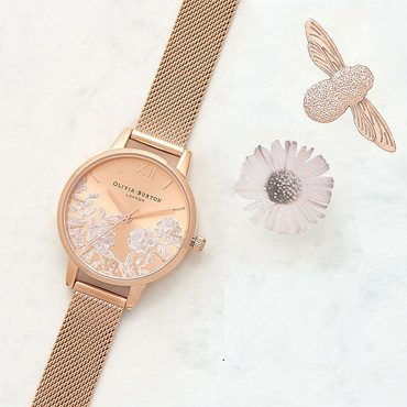 Olivia Burton Lace Detail Watches a9a4523b46