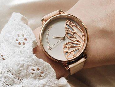Olivia Burton Rose Gold Watches