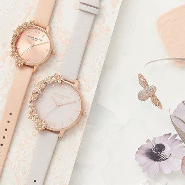 Olivia Burton Rose Gold Watches