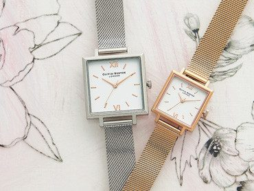 SQUARE DIAL OLIVIA BURTON WATCHES