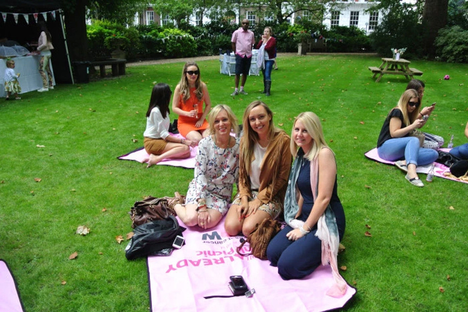 Miss You Already #PinkPicnic in aid of Breast Cancer Now