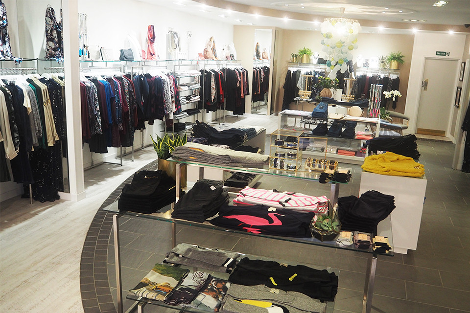 our multi award winning store | the dressing room