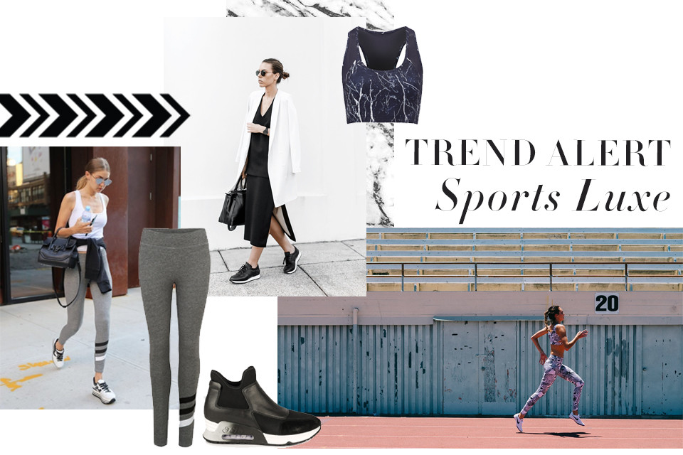 Trend Alert: Sports Luxe