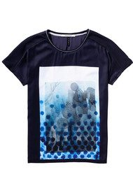 Maison Scotch Photo Print Tee - Combo C