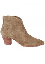 Ash Hurrican Suede Ankle Boot - Wilde