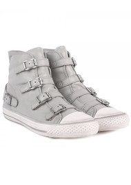 Ash Virgin Buckled Trainers - Marble