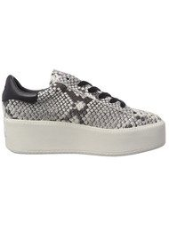 Ash Cult Diamante Trainers - Roccia & Black