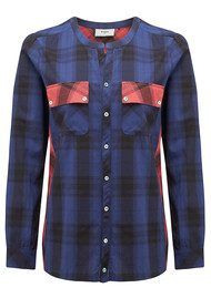 Pyrus Alabama Check Shirt - Blue Check