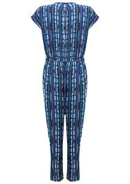 Pyrus Vine Printed Jumpsuit - Watercolour Stripe