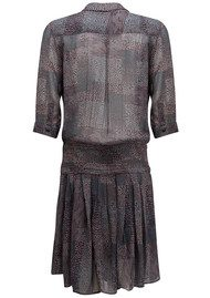 Pyrus Drury 3/4 Length Dress - Multi Animal Print