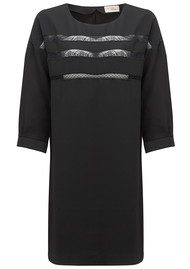 MY SUNDAY MORNING Emma Lou Lace Dress - Black