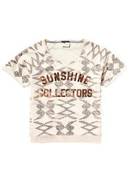 Maison Scotch Short Sleeve Sweater Tee - Combo E