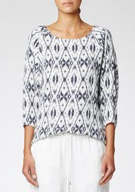 Twist and Tango Gwen Blouse - Ethnic Print