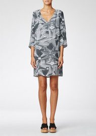 Twist and Tango Flora Dress - Graphic Print