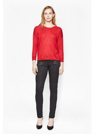 Great Plains Starry Knitted Jumper - Red