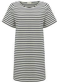 American Vintage Likastreet Boat Neck Dress - Stripe