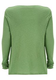 American Vintage Lorkford Long Sleeve Top - Cactus