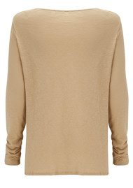 American Vintage Lorkford Long Sleeve Top - Tiramisu