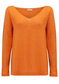 American Vintage Lunenberg Wool Jumper - Orange