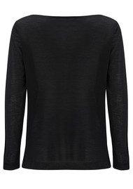 American Vintage Lunenberg Wool Jumper - Black