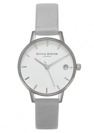 Olivia Burton The Dandy Watch - Grey & Silver