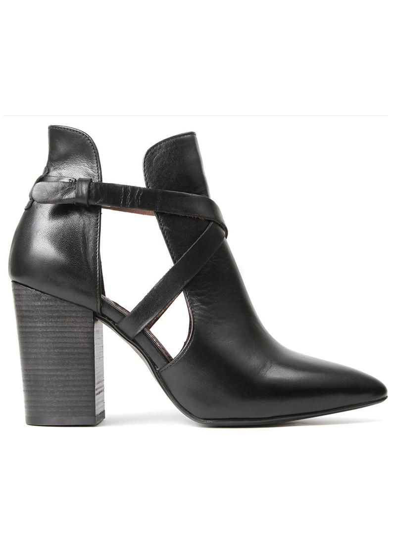 Hudson London Geneve Leather Boot - Black main image