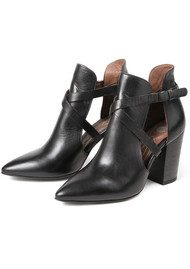 H By Hudson Geneve Leather Boot - Black