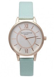 Olivia Burton Wonderland Watch - Mint, Rose Gold & Silver
