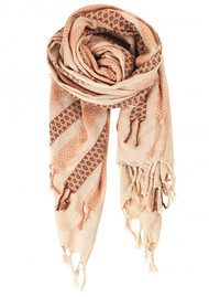 Becksondergaard W-Hasnaa Cotton Scarf - Dusty Rose