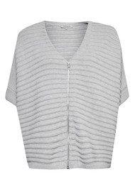 Great Plains Candy Cotton Sweater - Lunar Grey Melange