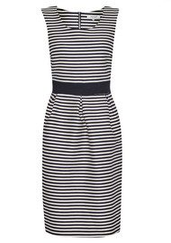 Great Plains Bella Brenton Stripe Dress - True Navy & Seasalt