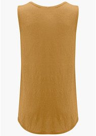 American Vintage Quincy Linen Tank - Army