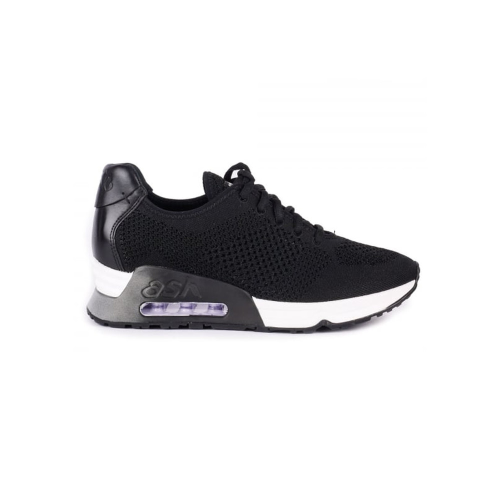 Lucky Knitted Trainers - Black