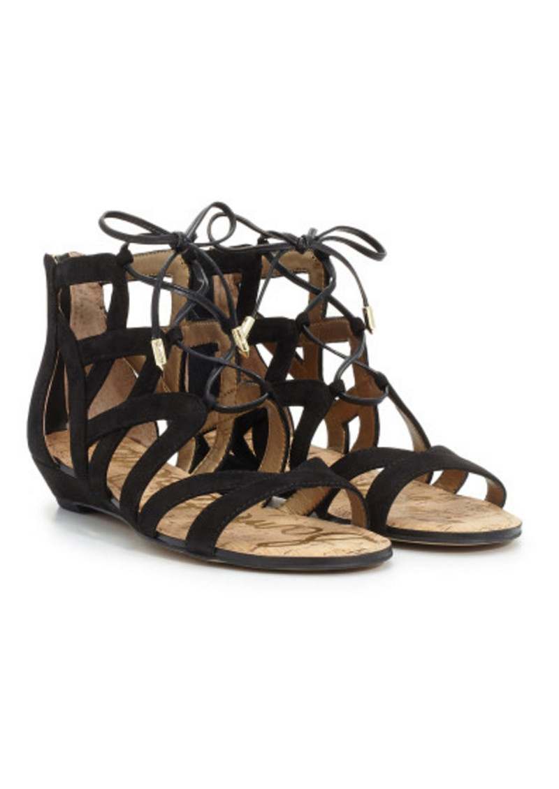 Sam Edelman Dawson Suede Sandals - Black main image
