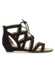 Sam Edelman Dawson Suede Sandals - Black