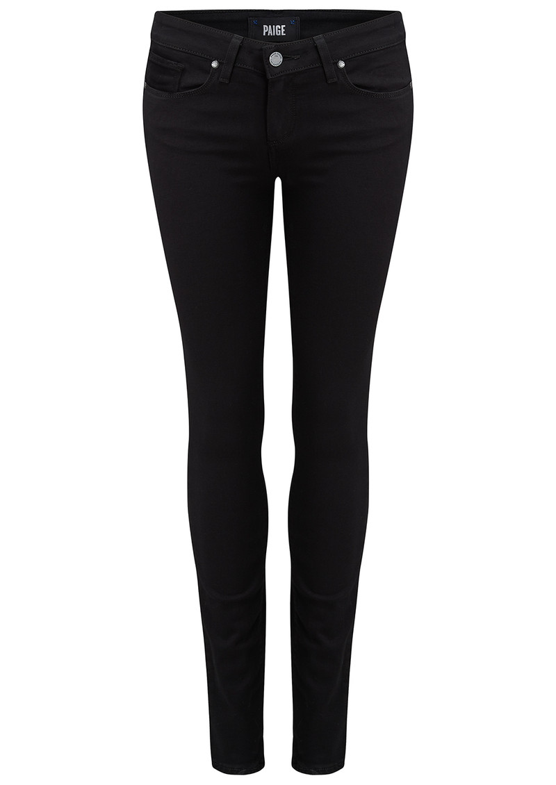 Verdugo Ultra Skinny Transcend Jeans - Black Shadow main image
