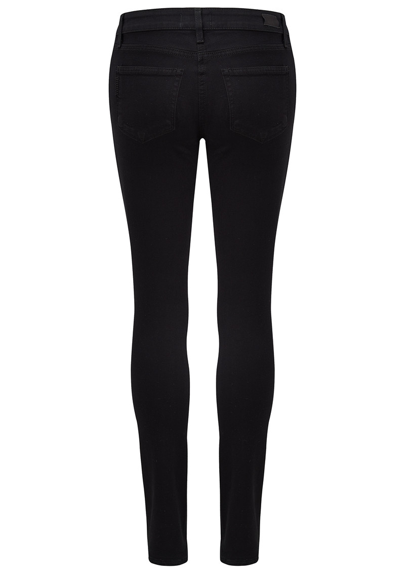 Paige Denim Verdugo Ultra Skinny Transcend Jeans - Black Shadow main image