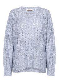 CUSTOM MADE Phie Sweater - Kentucky Blue